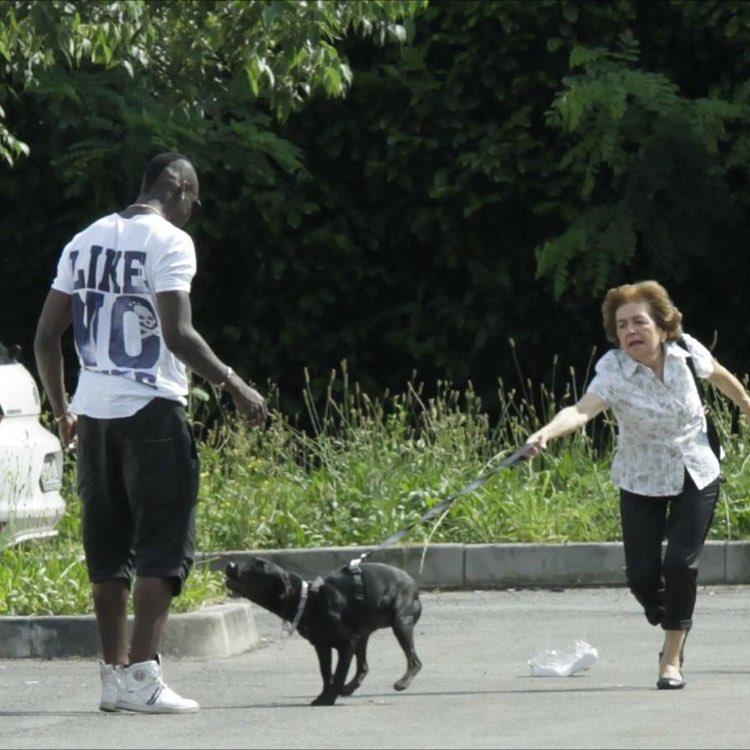 ◆悲報◆マリオ・バロテッリくん養父母の飼い犬に吠えられるwww