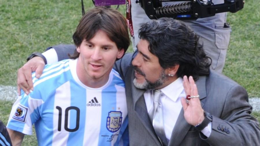 ◆コパアメリカ◆マラドーナ「メッシにはリーダーになるだけのパーソナリティーがない」