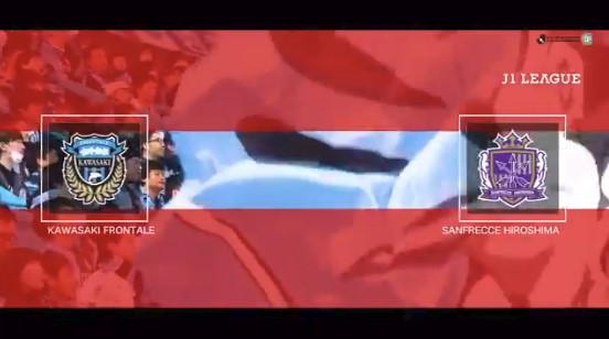 ◆J1◆5節 川崎F×広島 またも大誤審で結果に影響!広島パトリック弾で首位!川崎長谷川の同点ゴールは取り消される