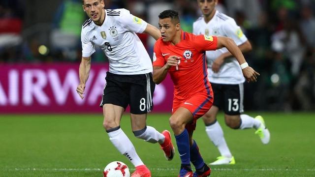 ◆コンフェデ杯◆ドイツ戦アレクシス・サンチェスの先制ゴールのシュートが上手すぎると話題に!