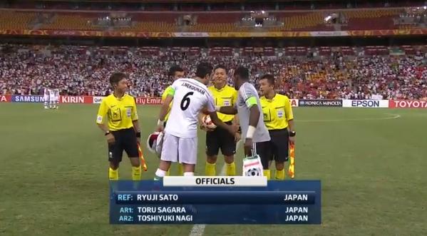 ◆アジア杯◆UAE監督が日本人審判団痛烈批判もこれはちょっとむなしいねw