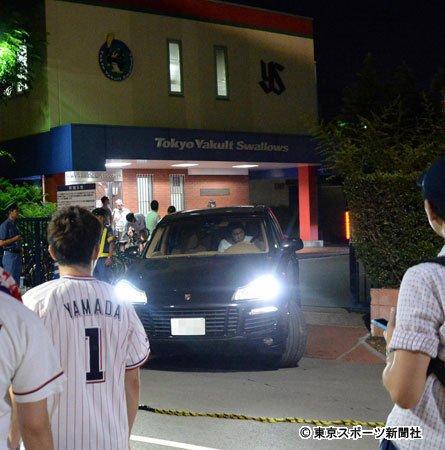 ◆小ネタ◆大逆転負けでヤクルトファンがクラブハウス突撃、出てくるまでちゃんと待ってる浦和サポよりひどくて草