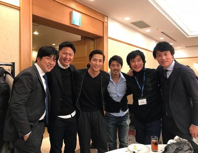 ◆画像◆中山雅史・名波浩・福西崇史・松井大輔ら日本サッカーのレジェンドがチャリティイベントで集結
