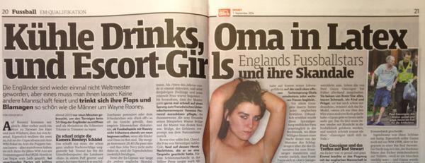 ◆悲報◆ルーニー、代表合宿に娼婦を招き入れる?スイスで疑惑勃発