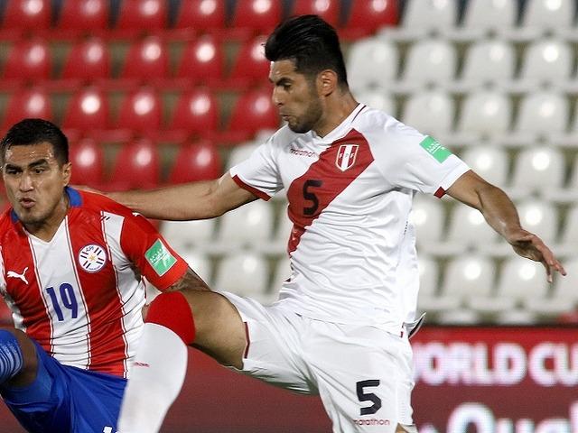 ◆W杯南米予選◆ペルー代表ザンブラーノのエルボーが酷すぎると話題に!「ただの暴力」「気管を切開するような…」