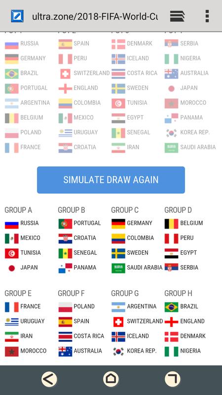 ◆ロシアW杯◆ポット分け決定!クロアチアが第2ポットへ滑り込み、セルビア、ナイジェリアが第4ポットに