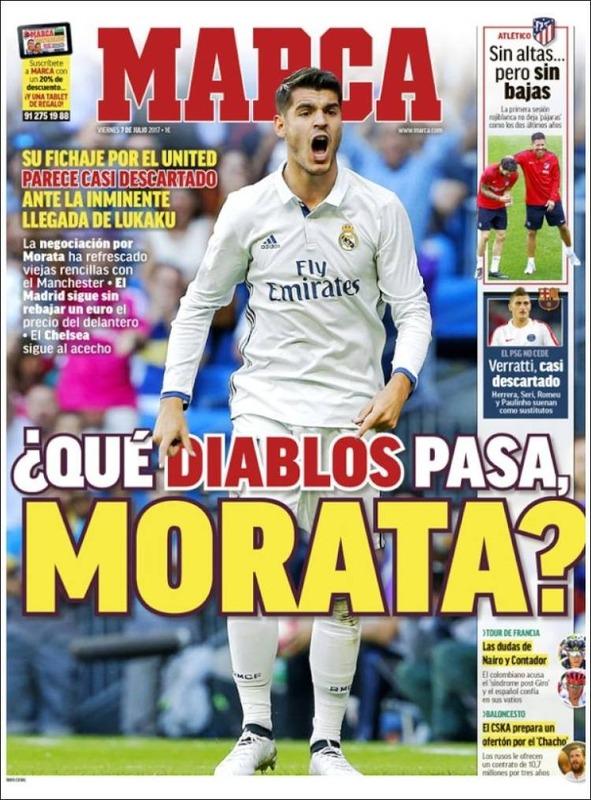 ◆リーガ◆モラタ破断でレアル×マンUデヘアFAX事件に続く遺恨勃発? スペイン紙が痛烈批判