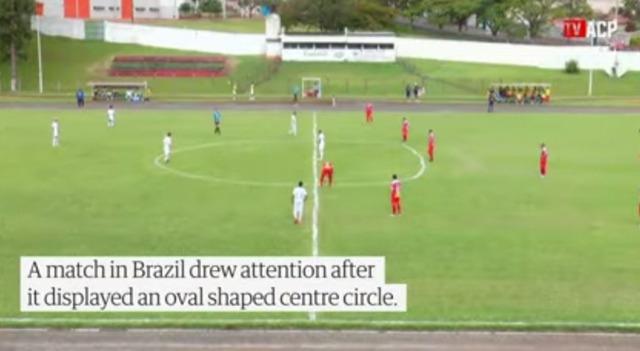 ◆ブラジル◆これで試合すんの?ブラジル3部「雑すぎるセンターサークル」が話題