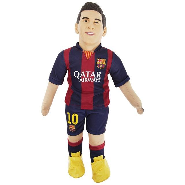 ◆画像◆サッカーの神リオネル・メッシの等身大ぬいぐるみwww