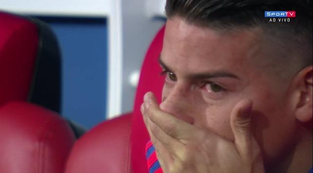 ◆悲報◆コロンビア代表ハメス・ロドリゲス、エクアドルに1-6大敗で泣いてしまう