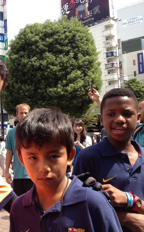 ◆画像◆元バルサ久保建英がアンスーと東京にいたあの日