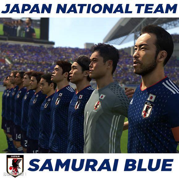 ◆画像◆日本代表新ユニフォームをウィイレで日本代表選手に着させてみた結果w