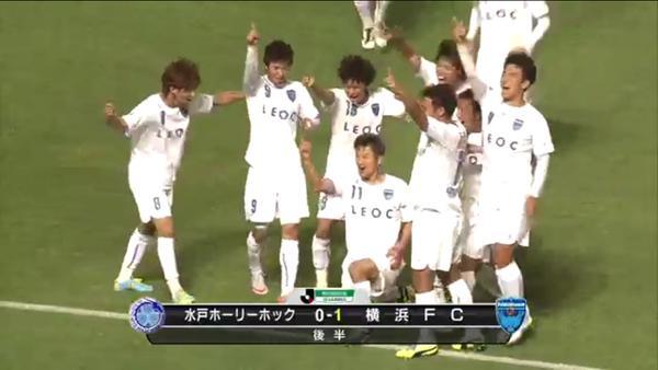 ◆Jリーグ◆三浦カズ 復帰戦で終了間際に決勝ゴール!最年長記録さらに更新!(動画)