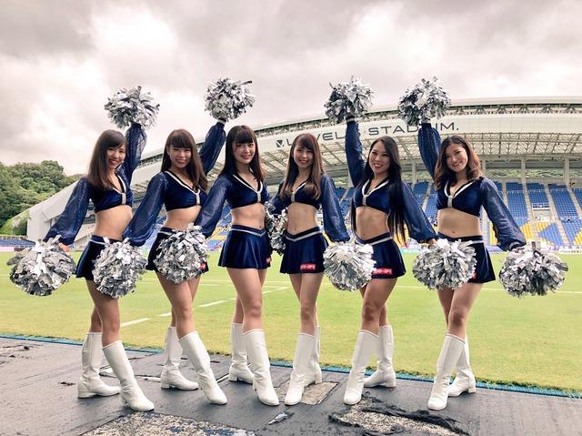 ◆画像◆J2盟主福岡のチアガールがレベル5だと話題に!(レベル5がどの程度を指すのかは不明だが…)