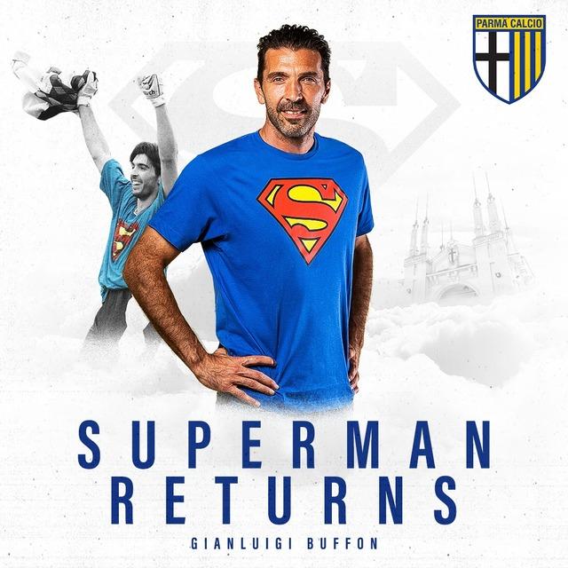 ◆セリエA◆スーペルマン、ブッフォンが古巣パルマ帰還!クラブが正式発表!