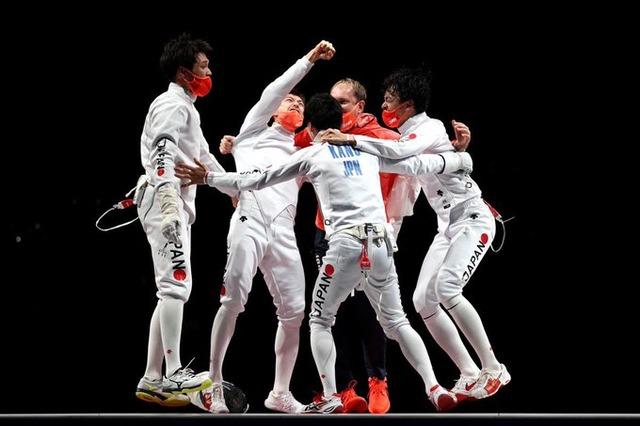 ◆東京五輪◆フェンシング男子エペ団体 日本決勝でロシアを破って金メダル!17個目で64年東京大会超え達成!