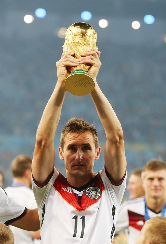 ◆速報◆W杯ゴール記録保持者、元ドイツ代表ミロスラフ・クローゼ引退を発表