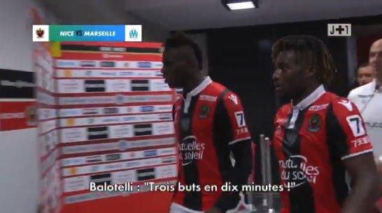 ◆悲報◆バロテッリ、マルセイユ戦2点先行後あっという間に逆転されて激おこ!「10分で3失点!!!クソ!!」