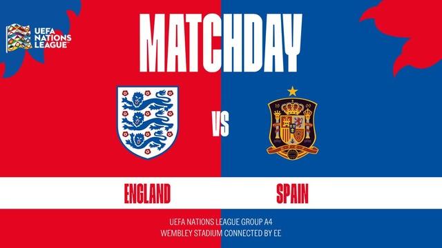 ◆U-NL◆A4組1節 イングランド×スペイン ラッシュフォードのゴールで英先制もサウル、ロドリゴのゴールでスペイン逆転勝利