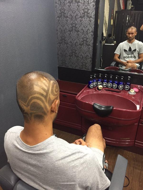 ◆画像◆頭に模様・・・・磐田FW川又堅碁のヘアスタイルが奇抜すぎると話題に!