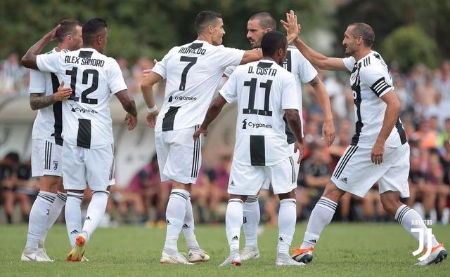 ◆朗報◆クリロナ、ユーベU21との公開練習試合で移籍後初ゴール!観戦に大量のファン殺到