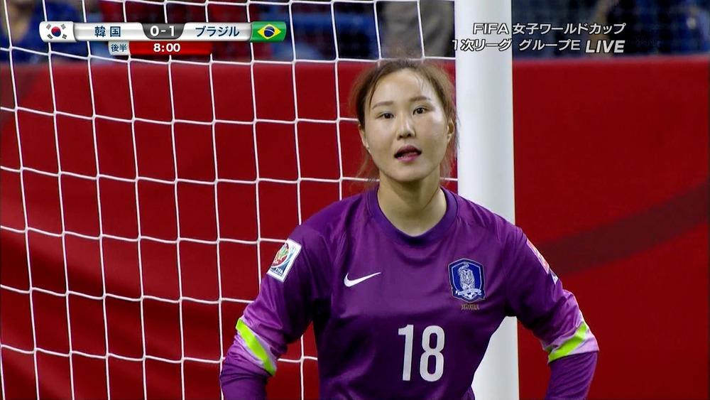 ◆女子W杯小ネタ◆韓国女子代表日焼け対策しすぎてバカ殿っぽくなってると話題に!