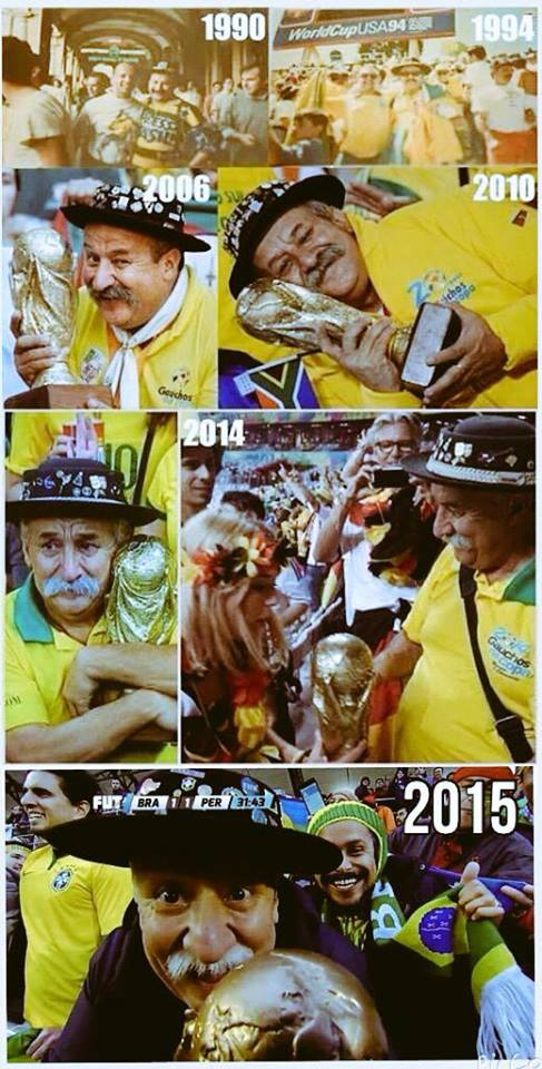 ◆訃報◆ブラジルのW杯おじさんことクロービス・フェルナンデスさんがん闘病9年の末にご逝去