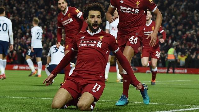 ◆プレミア◆リバプールFWモハメド・サラー、クラブ最速のリーグ20得点達成!トーレス、スタリッジの記録を破る