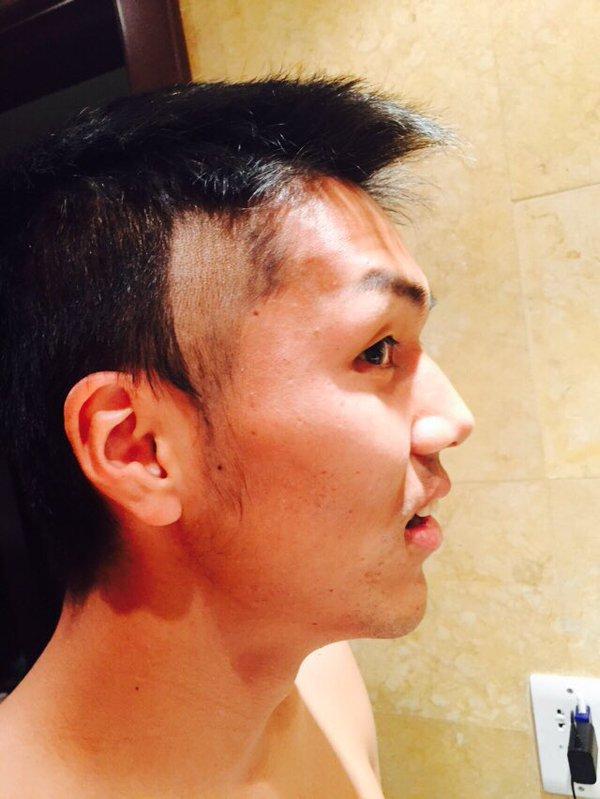 ◆画像◆決勝で久保裕也の髪型がおかしなことになっていた理由wwww