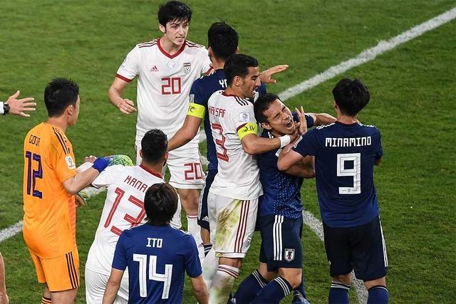 ◆朗報◆長友佑都、乱闘で高額罰金の恐れもイランの選手と仲直り