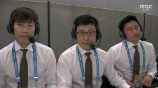 ◆画像◆韓国TV実況席のアン・ジョンファンwww