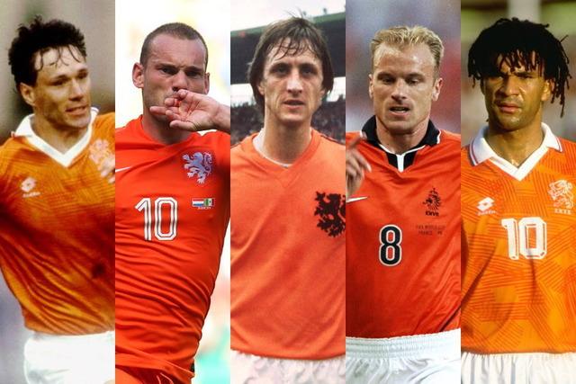 ◆オランダ代表◆「歴代ベスト11」を英メディア選出!クライフ、フリットらが並ぶ豪華布陣...