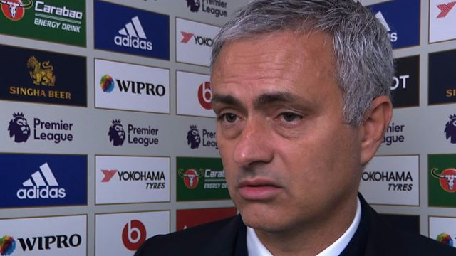 ◆画像◆試合後インタビュー中のモウリーニョの顔が速水いまいちっぽくなっていると話題に!