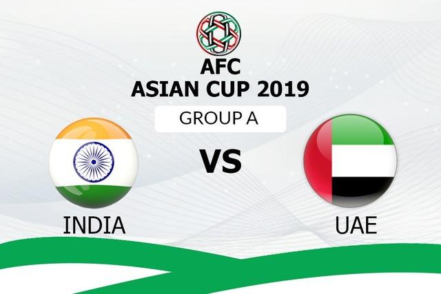 ◆アジア杯◆B組2節 インド×UAE UAE前後半の終盤に得点!0-2で勝利!インド連勝ならず
