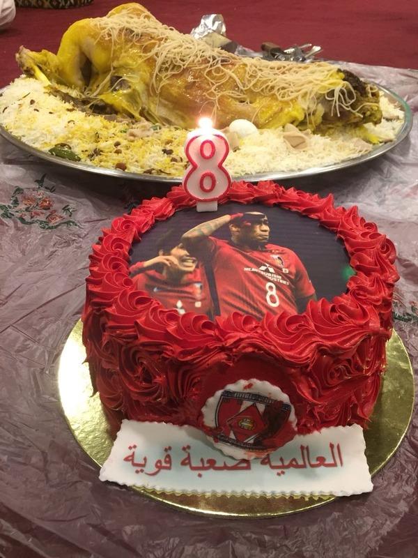 ◆ACL小ネタ◆アンチアル・ヒラルの皆さん嬉しすぎてラファエル・シルバ ケーキでお祝い(´・ω・`)