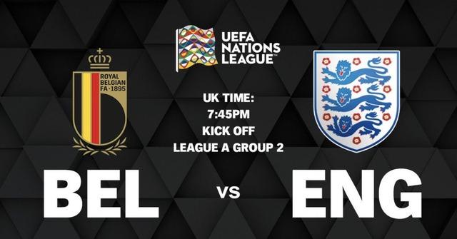 ◆UNL◆2組5節 ベルギー×イングランド ベルギー、イングランドを寄せ付けず2-0で完勝