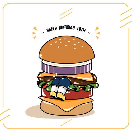 ◆悲報◆エデン・アザールさん欧州の腐女子にハンバーガーの具にされる(´・ω・`)