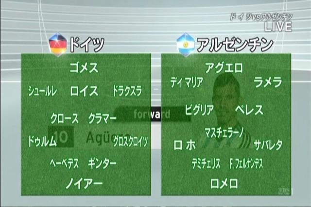 ◆国際親善試合◆ドイツ✕アルゼンチン アルゼンチンがW杯のリベンジ!メッシ不在もディマリア無双1G3A ゴメス師匠