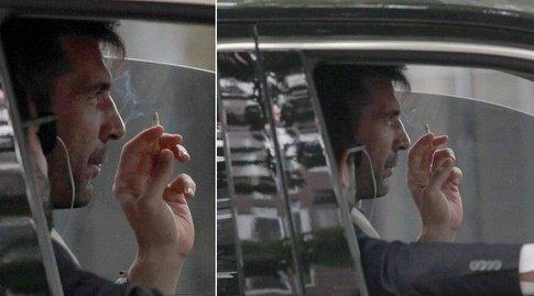 ◆悲報◆ブッフォンが喫煙に騒然