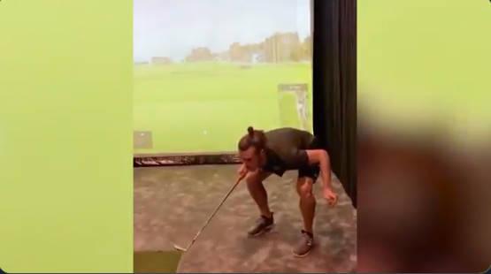 ◆朗報◆ゴルフクラブと体を使いゴルフボールでリフティングするギャレス・ベイルが旨すぎる件www