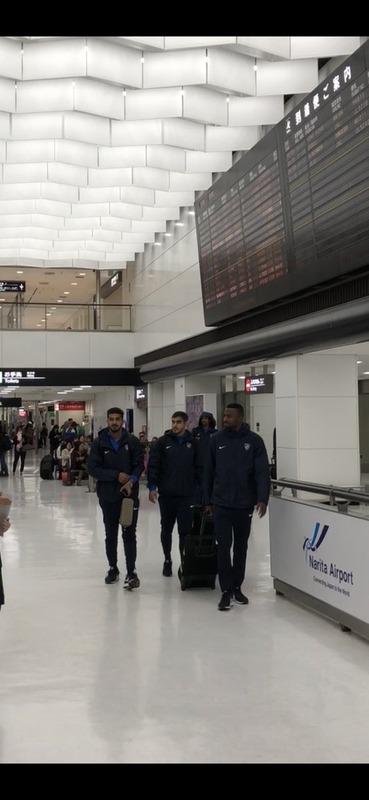 ◆ACL速報◆アル・ヒラルの選手たち早くも 成田到着!浦和まだ着いていない模様