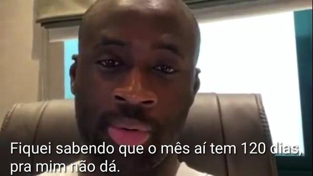 ◆ブラジル◆ヤヤ・トゥーレ、バスコ・ダ・ガマから逃亡(´・ω・`)「ビデオで表明」…コロナの影響か