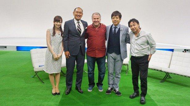 ◆TV出演◆神様ジーコが『FOOT×BRAIN』で解説者秋田豊に的確なツッコミ!「ろくなこと言ってないんだろ?」