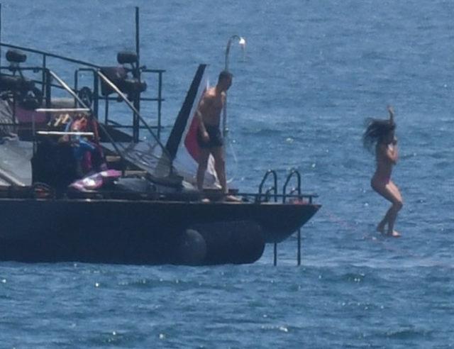 ◆画像◆クリスティアーノ・ロナウドと恋人ジョルジナ、マルベラでクルーザーバカンス中をパパラッチされる