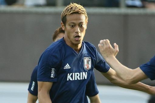 ◆日本代表◆本田圭佑、ハリル解任に「ネガティブには思わない」