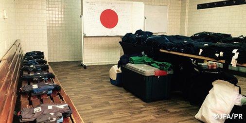 ◆五輪予選小ネタ◆北朝鮮戦 U23日本代表のロッカールーム酷すぎワロタwww