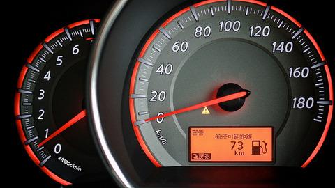 車「リッター10キロです」 バイク「リッター25キロです」 原付「リッター40キロです」