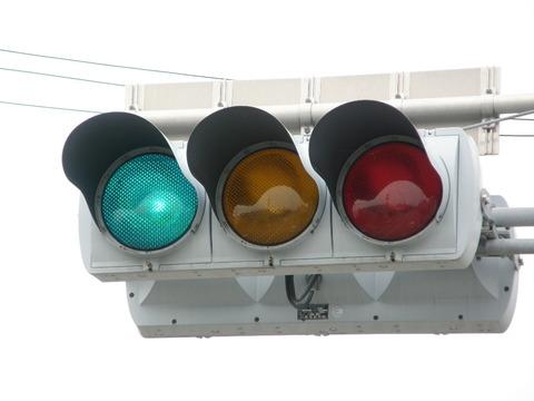 歩行者信号機と車両用信号機でタイムラグがあるやつwwwwwwwww