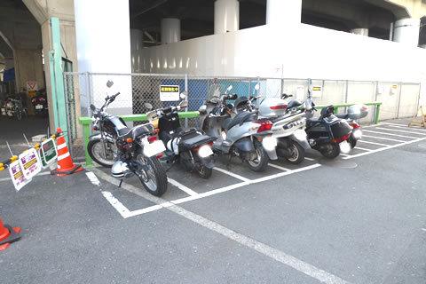 一人暮らしのバイクの置き場ってどこなん?