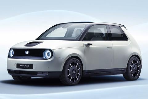ホンダが電気自動車「ホンダe」を世界初公開